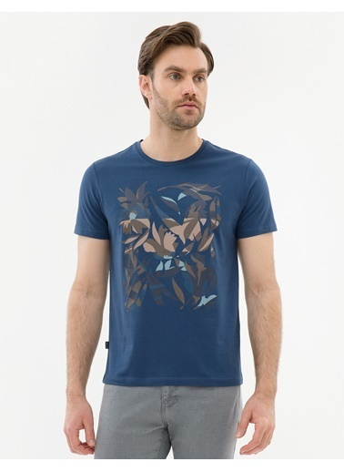 Pierre Cardin Tişört İndigo